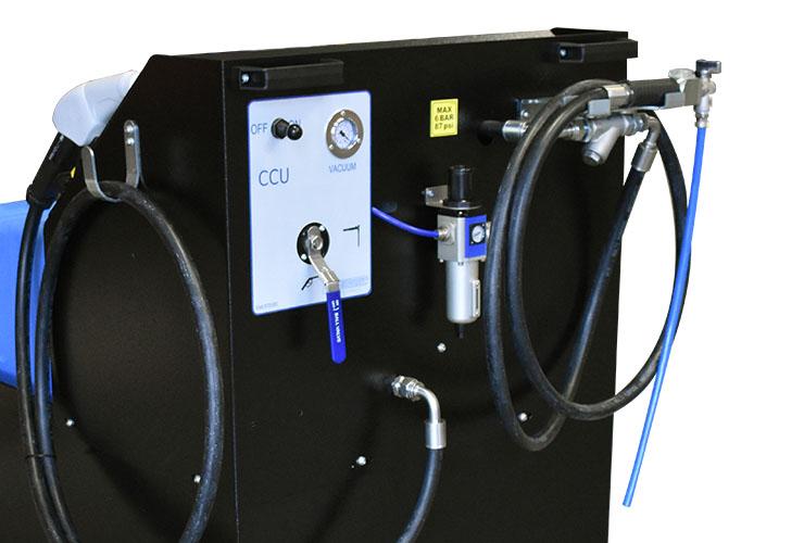 CCU suction system