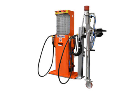 PFT-VS Fuel puncher with remote controls and visual plug in