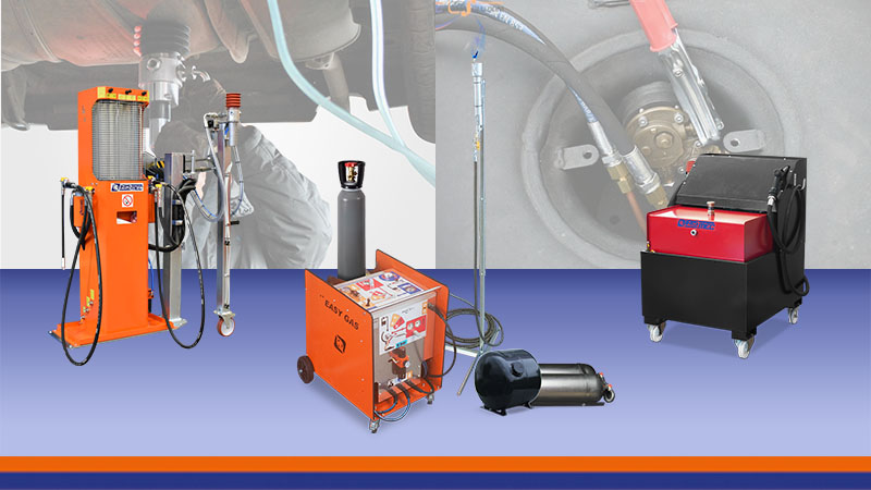 Equipment for the recovery and reuse of fuels